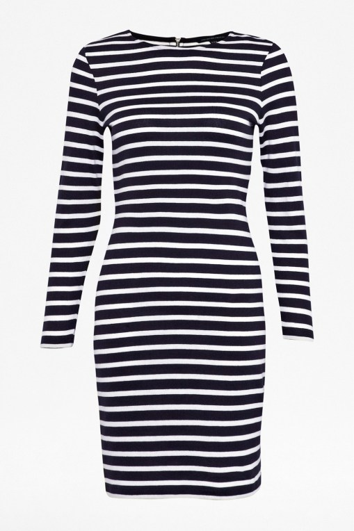 French Connection Stripe Cotton Dress, $138