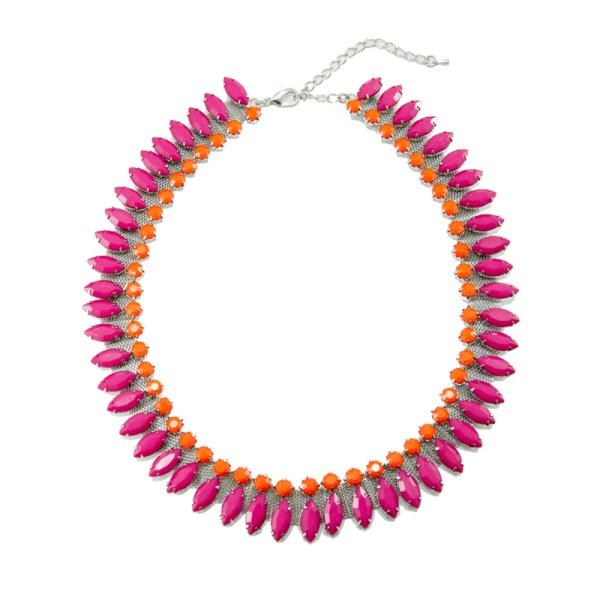 Pink Highlighter Necklace, $24