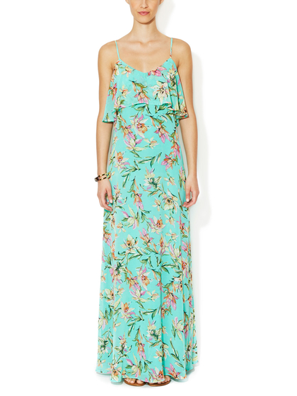 Floral Maxi Dress, The Letter, $69