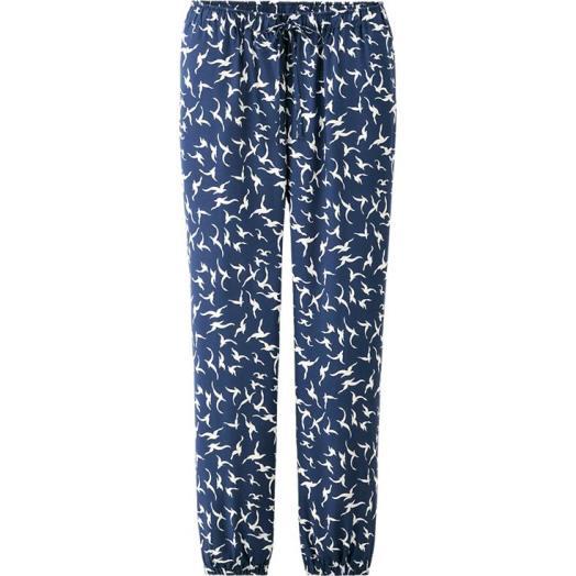 Bird Print Drape Pants, Uniqlo, $14.90