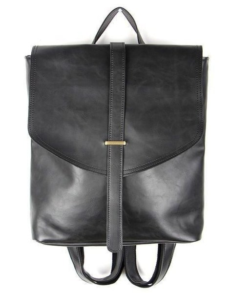 Murati Faux-Leather Flapped Backpack $64