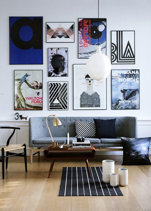 Gallery Wall Art Inspiration | KP FUSION