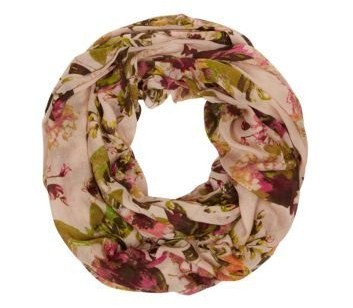 Stone Floral Snood New Look $13