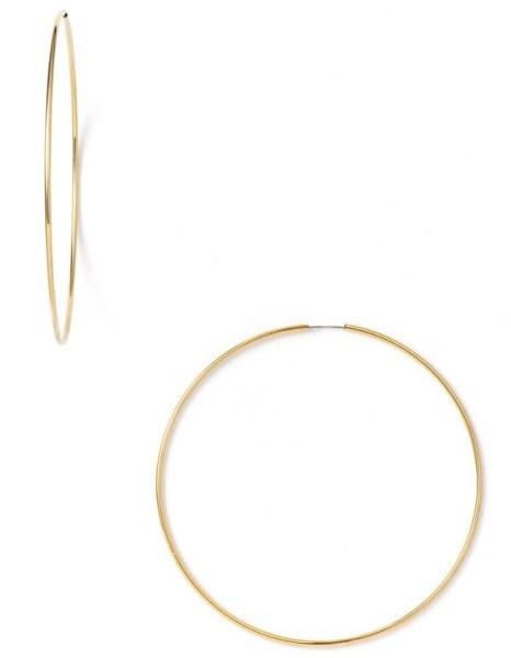 Endless Oversized Hoo Earrings Nordstron $24