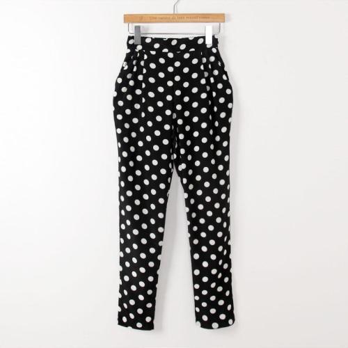 Polka Dot Haren Pants, JVL, $20