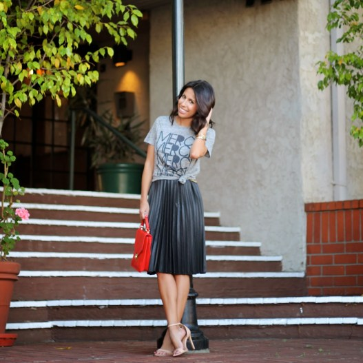 Pursuit-Of-Shoes-Midi-Skirt