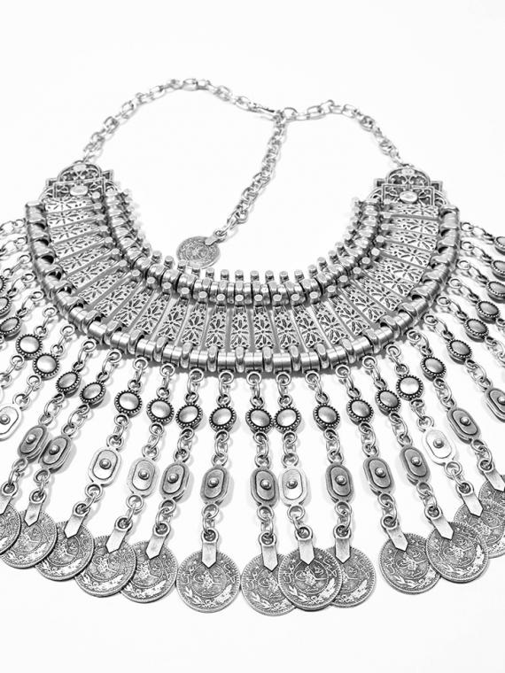 Soulminx_Warrior_Princess_Silver_Coin_Necklace_$89
