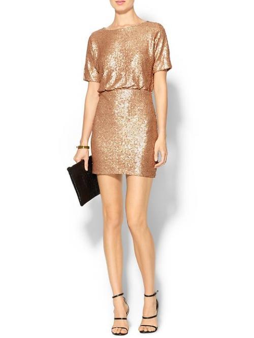 Ark + Co All Over Sequin Mini Dress