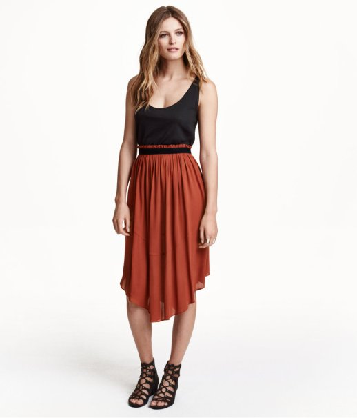 Flared Skirt H and M