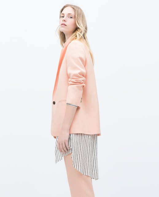 Straight Cut Blazer Zara-2