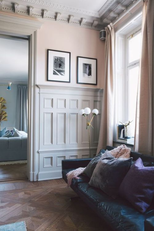 Pale Pink Walls Decor