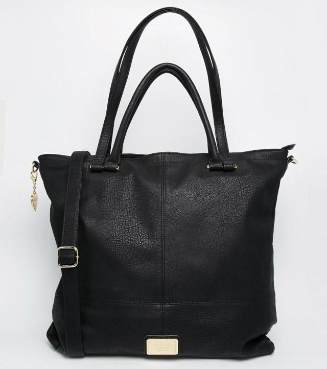 Oversized Shoulder Bag with Cross Body Strap, Marc B, $99