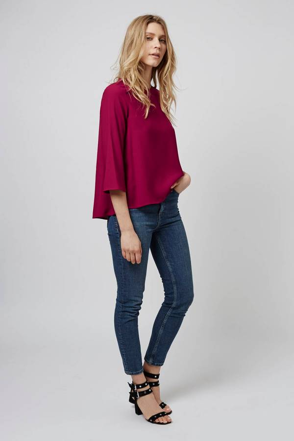 Topshop Side Split Top
