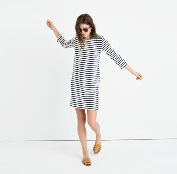striped-knit-dress-madewell