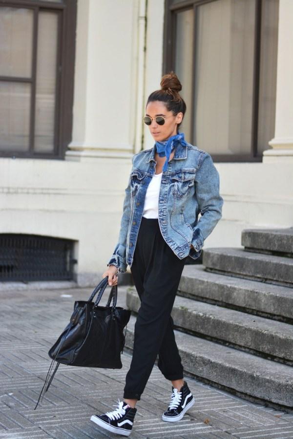 black-pants-vans-denim-jacket