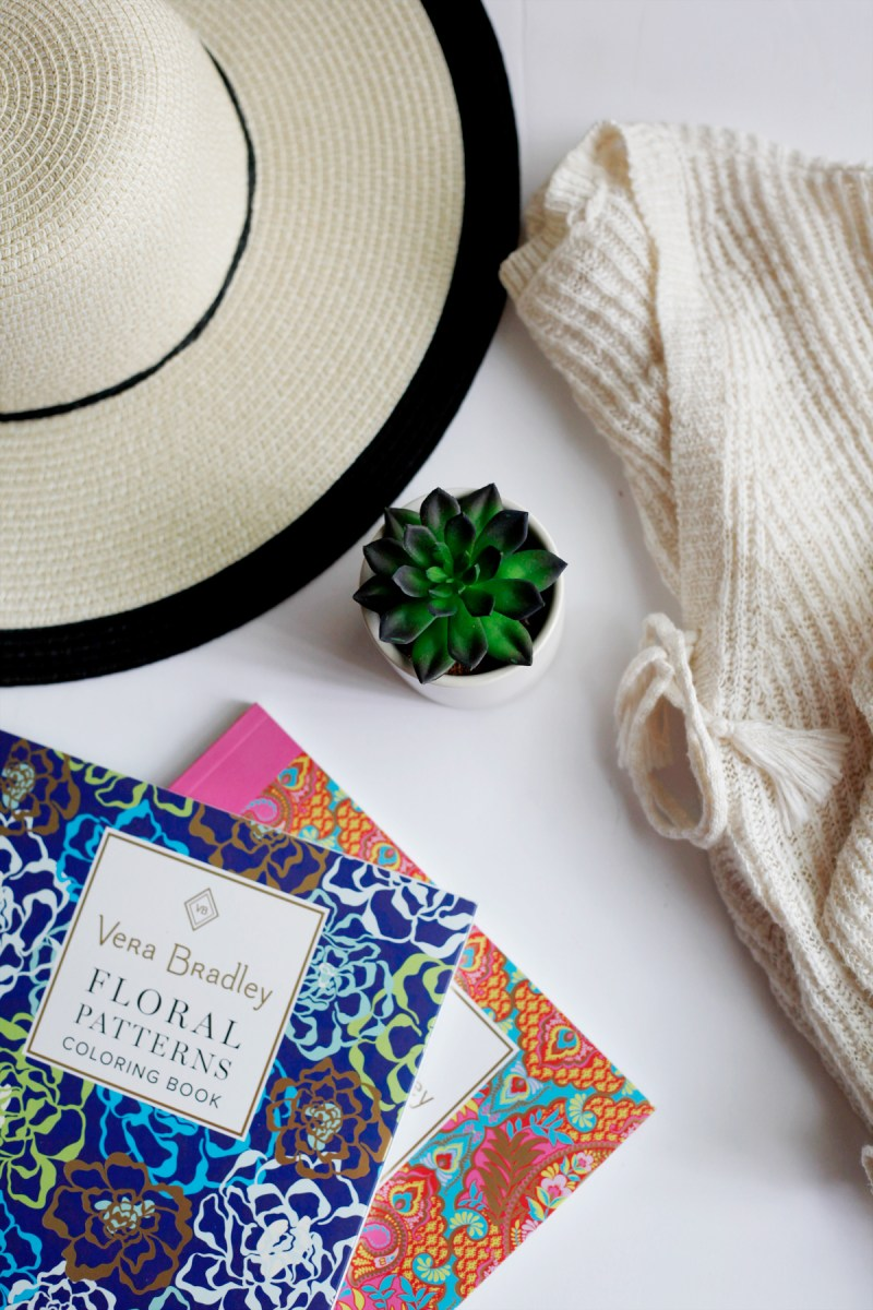 Vacation Extras // Vera Bradley Coloring Books