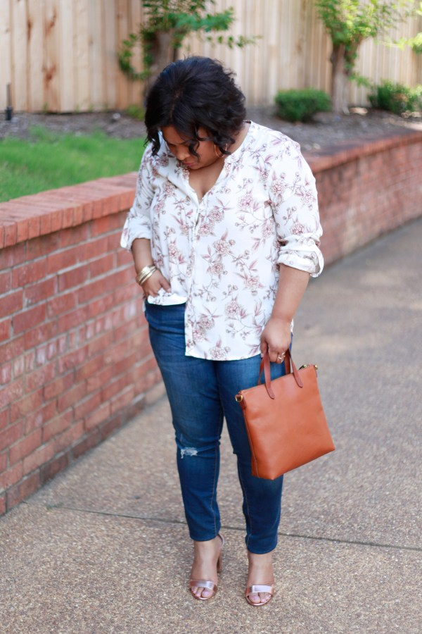 Floral-top-distressed-denim