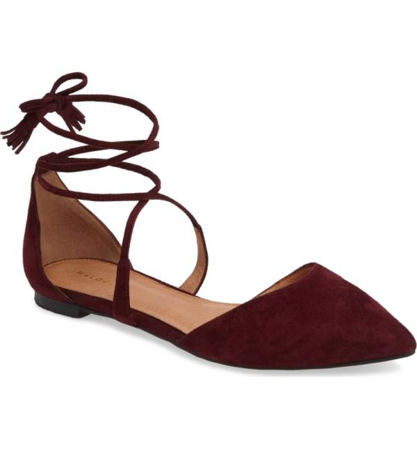 Oliver Ankle Wrap Flat