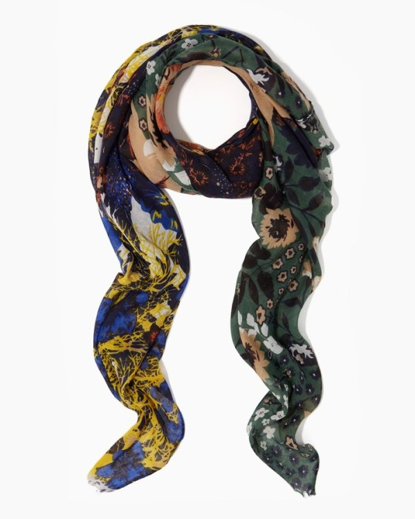 Charming Charlie Motley Floral Scarf