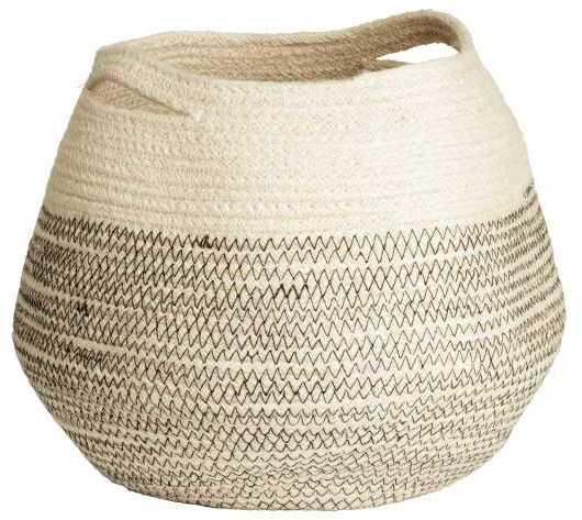 H&M Jute Storage Basket