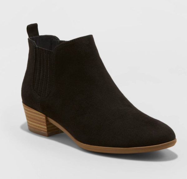 A New Day Women's Fawn Low Chelsea Booties