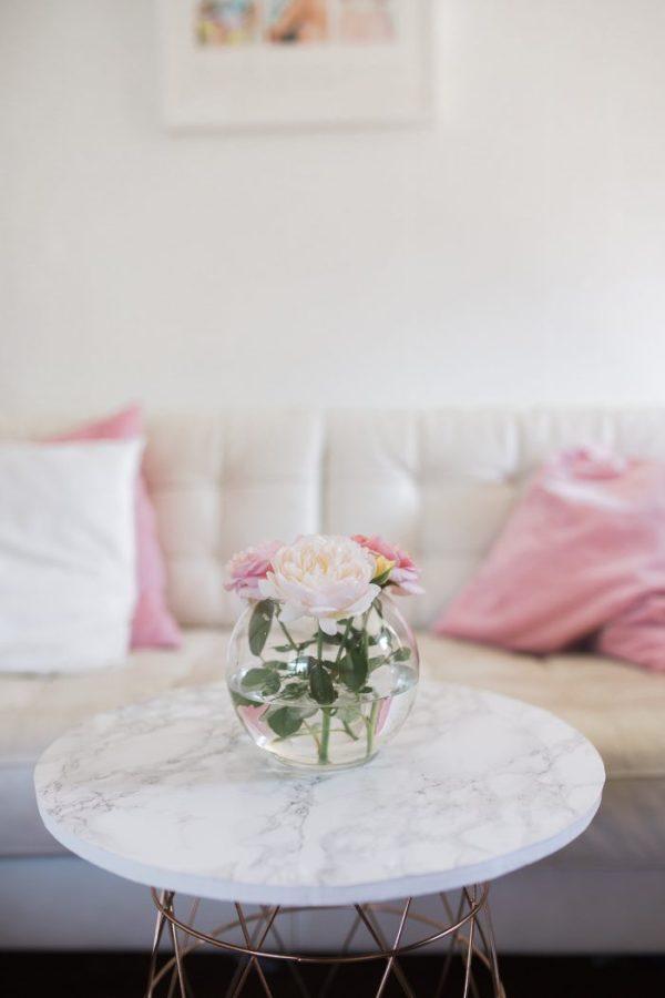 DIY MARBLE TABLE FOR BETTER HOMES & GARDENS