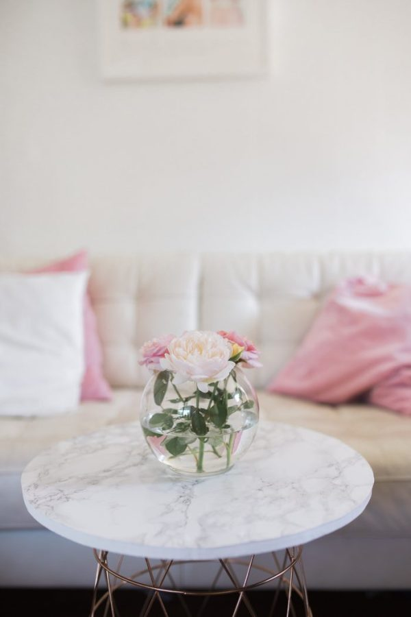 DIY MARBLE TABLE FOR BETTER HOMES & GARDENS