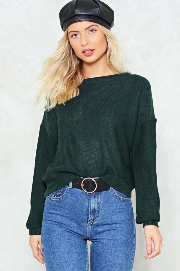 nastygal Draw Me Close Sweater