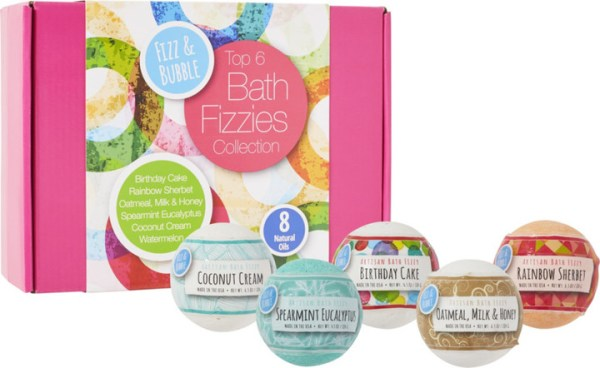 Fizz & Bubble 6-Pack Bath Fizzy Gift Box