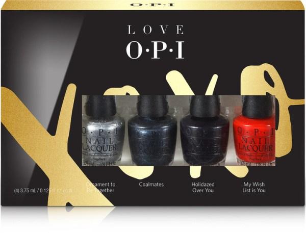 OPI Love OPI XOXO 4 Pc Mini Set