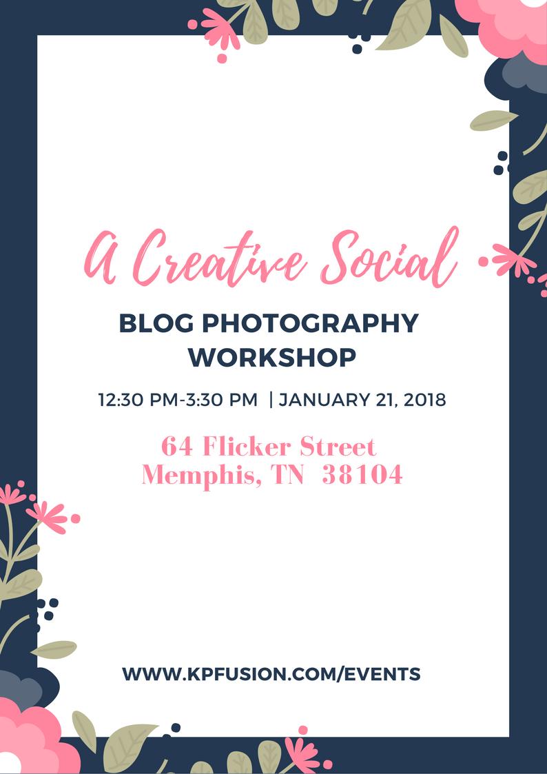 A Creative Social | Blog Photography Workshop 1.21.18