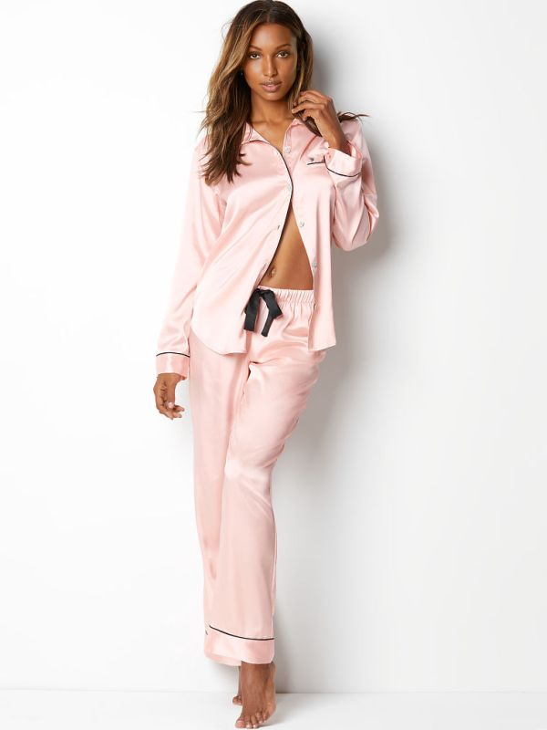 Victoria Secret The Afterhours Satin Pajama