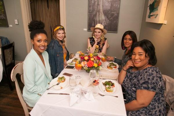 Restaurant Iris Influencer Luncheon Memphis Fashion Week