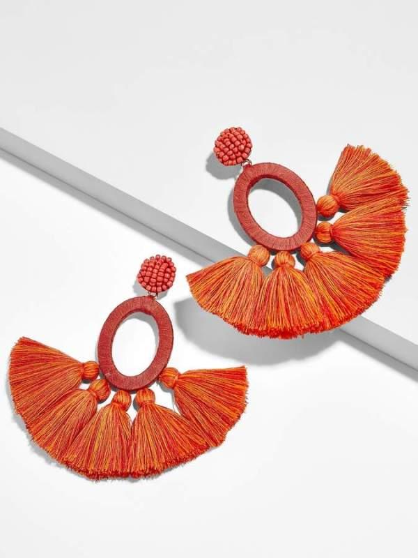 BaubleBar Abacos Tassel Earrings