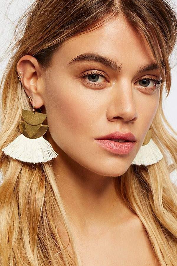 Diamond Canyon Tassel Earrings