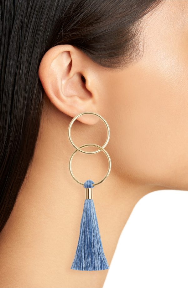 Gorjana Carmen Tassel Earrings