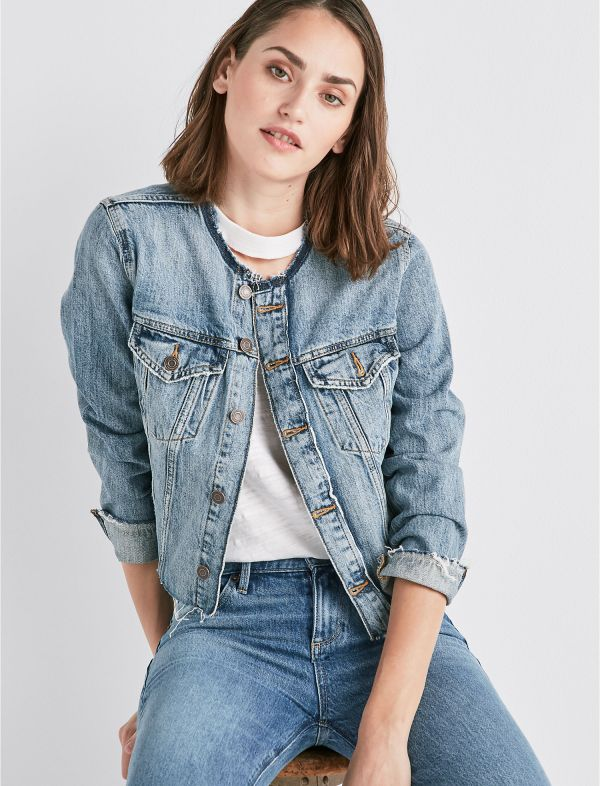 Remade Smart Jean Trucker Jacket