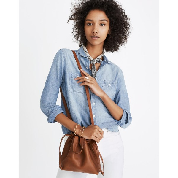 The Small Drawstring Transport Crossbody