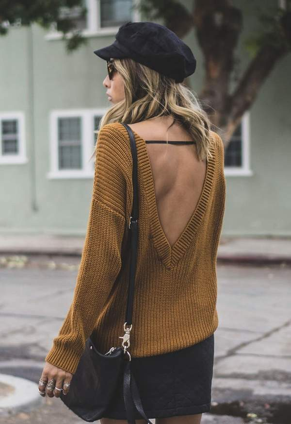 Forever 21 Ribbed Knit Sweater