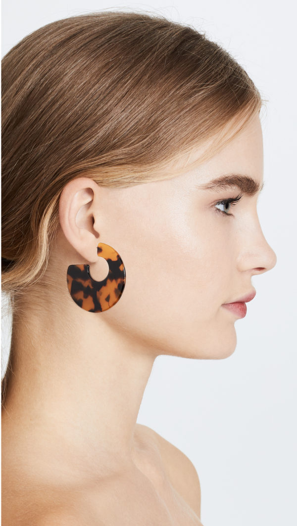 Shashi Katy Hoop Earrings