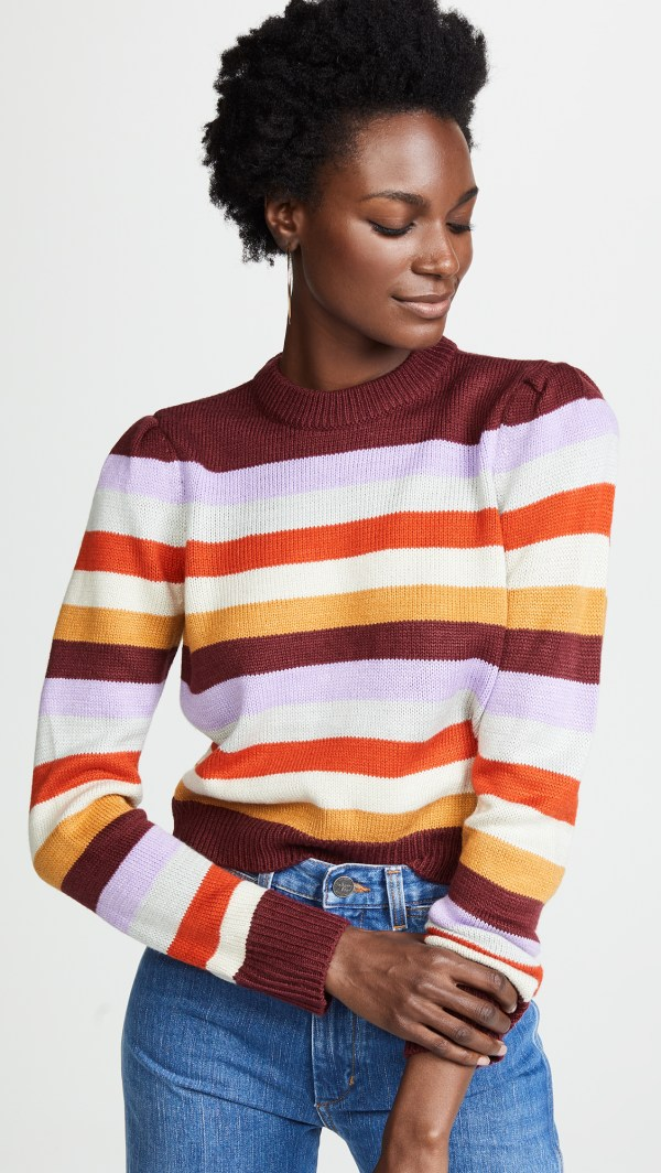 Wayf Emma Stripe Sweater