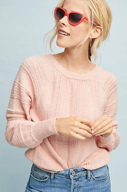 Meadow Rue Boucle Pullover