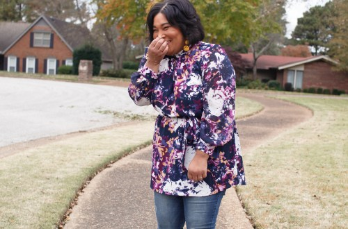 Girl-with-curves-watercolor-tunic denim