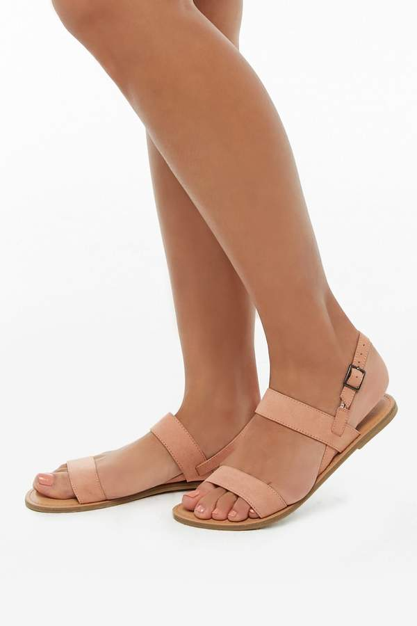 Forever 21 Faux Suede Sandals