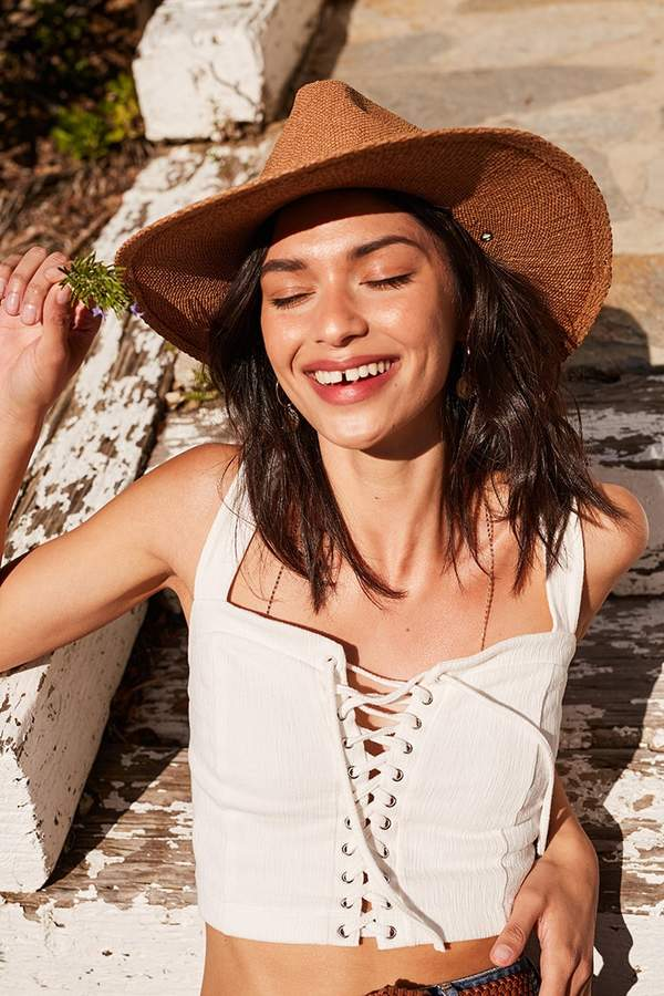 Forever 21 Panama Straw Hat