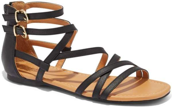 New York & Company Gladiator Flat Sandal