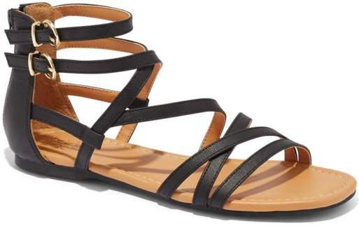 New York & Company Gladiator Flat Sandal