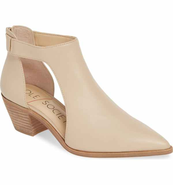 Sole Society Lanette Pointy Toe Bootie