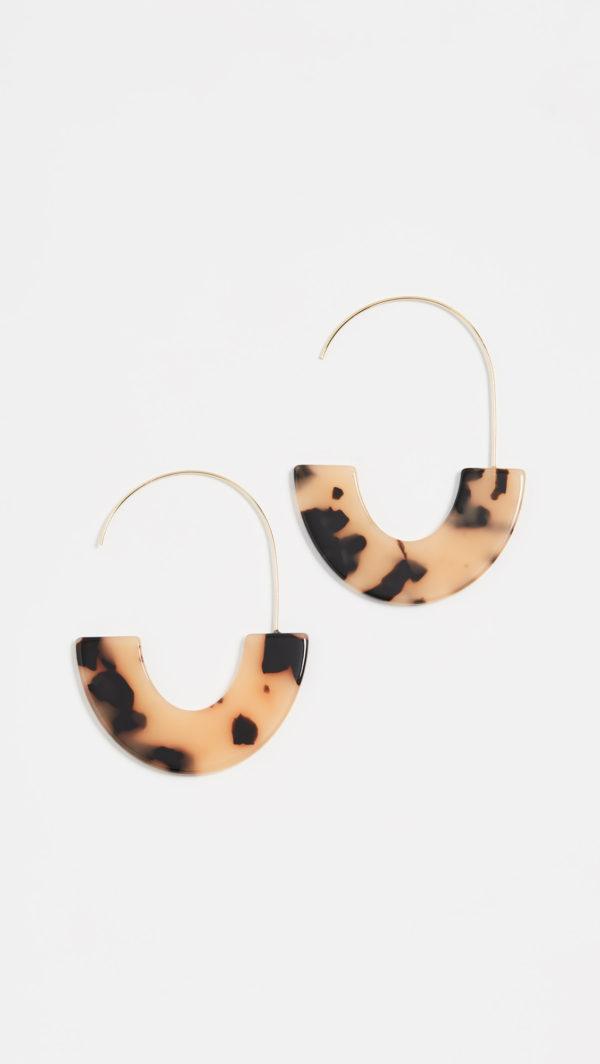 BaubleBar Faidra Resin Drop Earrings