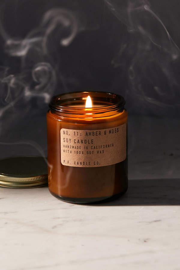 P.F. Candle Co. Amber Jar Soy Candle
